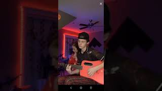 11:04 of Payton mooremire's live stream on tiktok Saturday 10th 2020