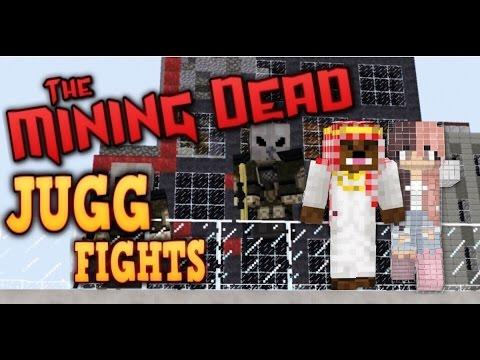 """JUGG FIGHTS WITH DARK!"" - Minecraft: The Mining Dead #89"