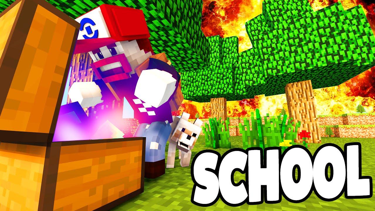 VERSTECKTE LOOT KISTEN ENTDECKT Minecraft School YouTube - Minecraft geheime hauser