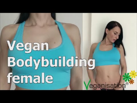 Vegan Bodybuilding female and sexy fitness workout veganisation.de