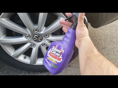 How To Clean Your Car Rims Quick & Easy! (2018)