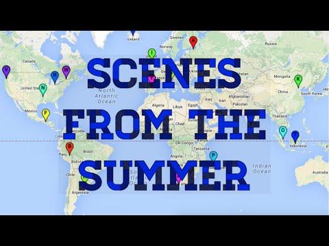 Duke University Global Baton: Scenes from the Summer