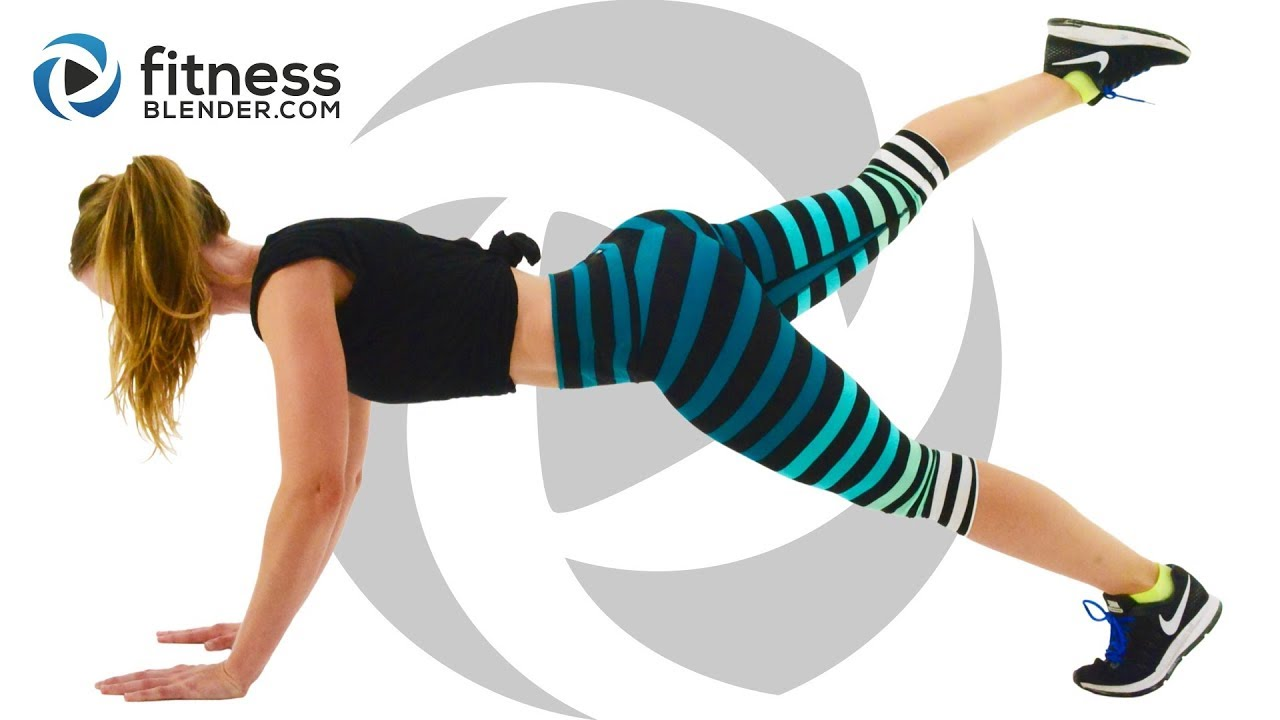 Fat Burning Hiit Cardio Workout With Advanced And Low Impact Mods