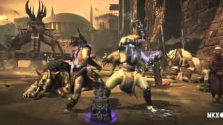 MORTAL KOMBAT X Trailer - Raiden Gameplay