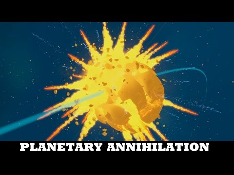 What happens when you build Five Ragnaroks - Planetary Annihilation