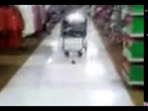Poop on floor at Walmart
