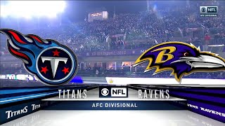 2019-20 NFL on CBS AFC Divisional Playoffs Intro/Theme (Titans vs Ravens)