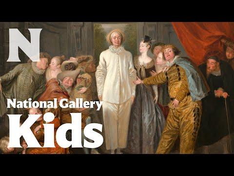 The Italian Comedians, probably 1720, Antoine Watteau
