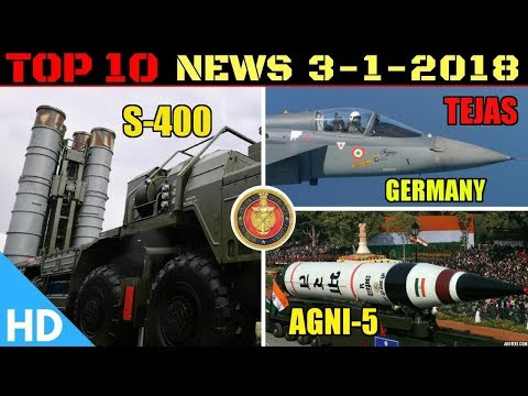 Indian Defence Updates : Tejas Export to Germany, S400 Final Stage, Agni 5 Production, DRDO K4 Test