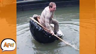 He Struggled So Hard But STILL FAILED! 😅 | Funniest Boat Fails | AFV 2021