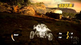 Motorstorm Vs. Motorstorm Pacific Rift Vs. Motorstorm Apocalypse Graphics Comparison Video 1080P HD