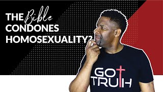 Find out How the Bible is Being Used to condone HOMOSEXUALITY thumbnail