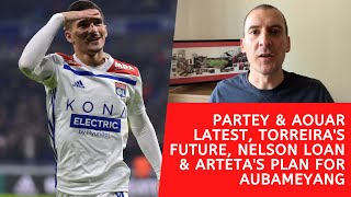 Partey and Aouar to Arsenal, A…