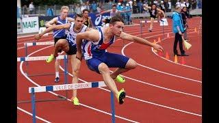 400m haies JUM - Championnats de France Cadets, Juniors DREUX, Juillet 2017