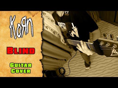 KoRn - Blind (guitar cover by mike_KidLazy)