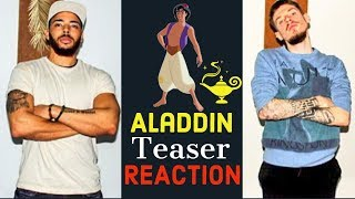 Aladdin teaser trailer REACTION