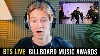 Producer Reacts to BTS - Butter (Live @ Billboard Music Awards)