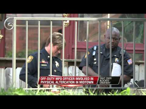 Off-duty Memphis officer involved in fight over blocked driveway