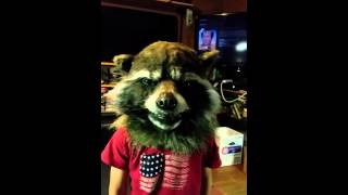 Rocket raccoon mask refit