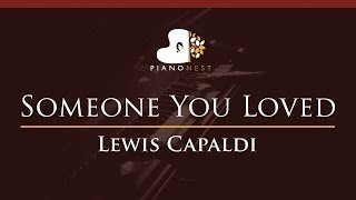 Download Mp3 Lewis Capaldi - Someone You Loved - Higher Key  Piano Karaoke / Sing Along
