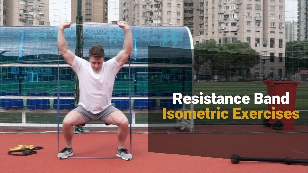Isometric Exercises for Huge Strength Gains   Examples