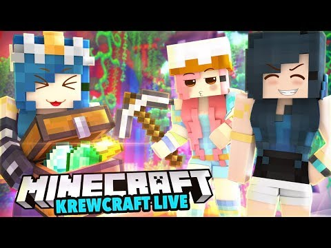 EXPLORING TWILIGHT FOREST! WE FIND SO MANY DRAGON EGGS!   Krewcraft LIVE!