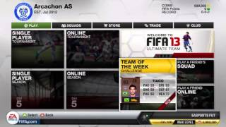 FIFA 13 Ultimate Team | An Introduction
