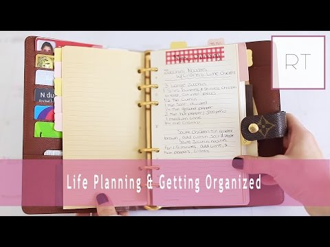 Life Planning & Getting Organized (My Agenda, Filofax & More) | Rachel Talbott