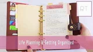 ♥ Life Planning & Getting Organized (my Agenda, Filofax & More) | Rachel Talbott  ♥