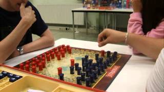 Two players at the Dutch Championship Stratego 2007