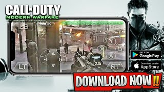 Call of Duty Modern Warfare Remastered Android Download & Gameplay | Cloud Gaming