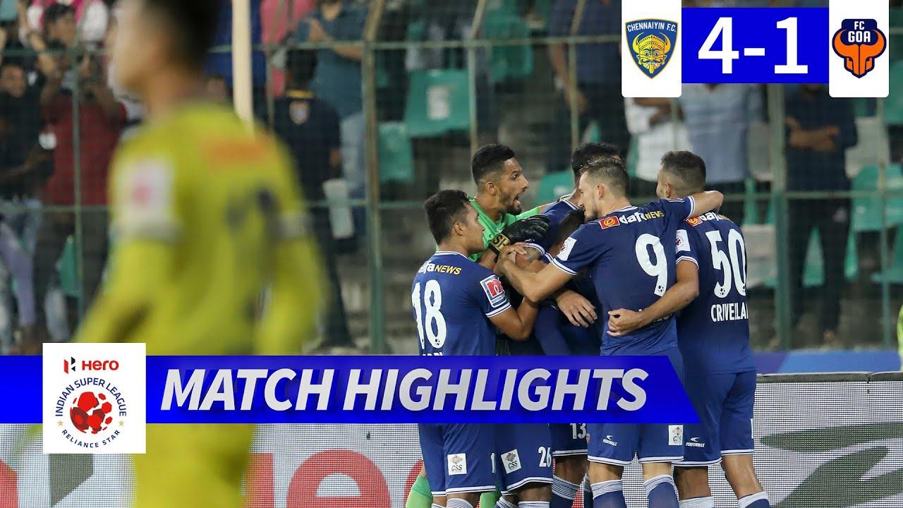 Chennaiyin FC 4-1 FC Goa - Semi-Final 1 First Leg Highlights | Hero ISL 2019-20