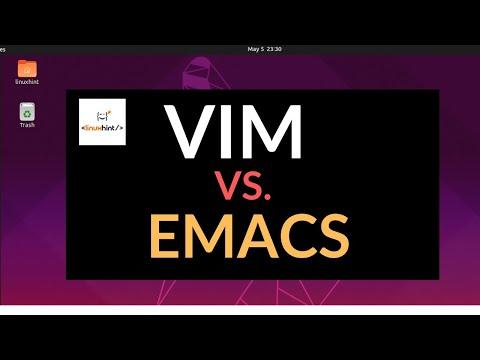 VIM VS EMACS