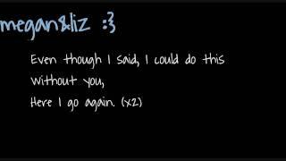 Here I Go Again - Megan&Liz - Lyrics♥