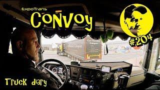 Convoy / Dispo Kai / Truck diary / ExpoTrans / Lkw Doku #204