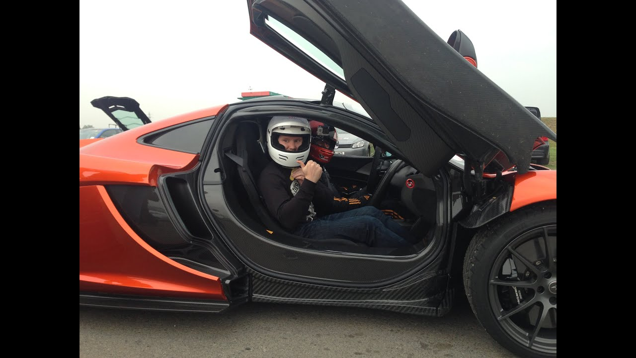 Mclaren P1 0 60mph In E Mode Full Electric Then Hot Laps