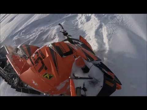 Cooke City MONTANA 2018 Snowmobiling Arctic Cat King Kat