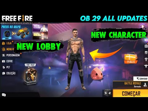 Free Fire OB29 Update Full Details | 4 August New Update Free Fire | ff new update | new ff update