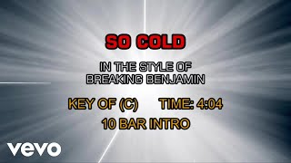 Breaking Benjamin - So Cold (Karaoke)