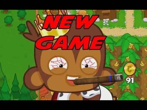 NEW GAME in Bloons Monkey City Mobile