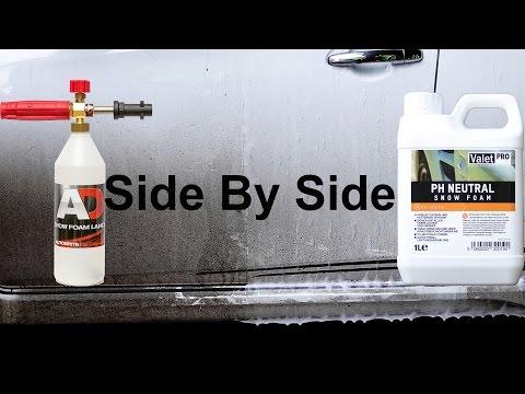Snow Foam Test : Valet PRO PH Neutral Snow Foam