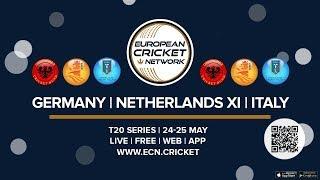 Germany vs Italy T20I Match 1 of 2