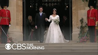 Princess Eugenie gets married at Windsor Castle