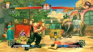 Game Play Radeon hd 6950 2gb  Super Street Fighter 4 Arcade Edition full high.