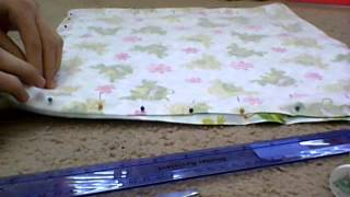 How To Make A Doll Bedding Set Part 1 (blanket,head And Throw Pillow)