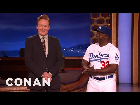 Sandy Koufax Stops By CONAN  - CONAN on TBS