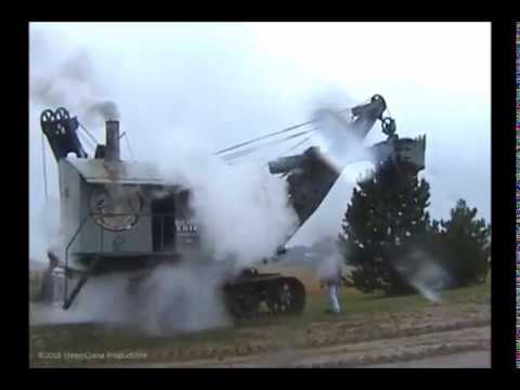 Bucyrus-Erie 50-B Steam Shovel - Sept. 2000 - Part 4