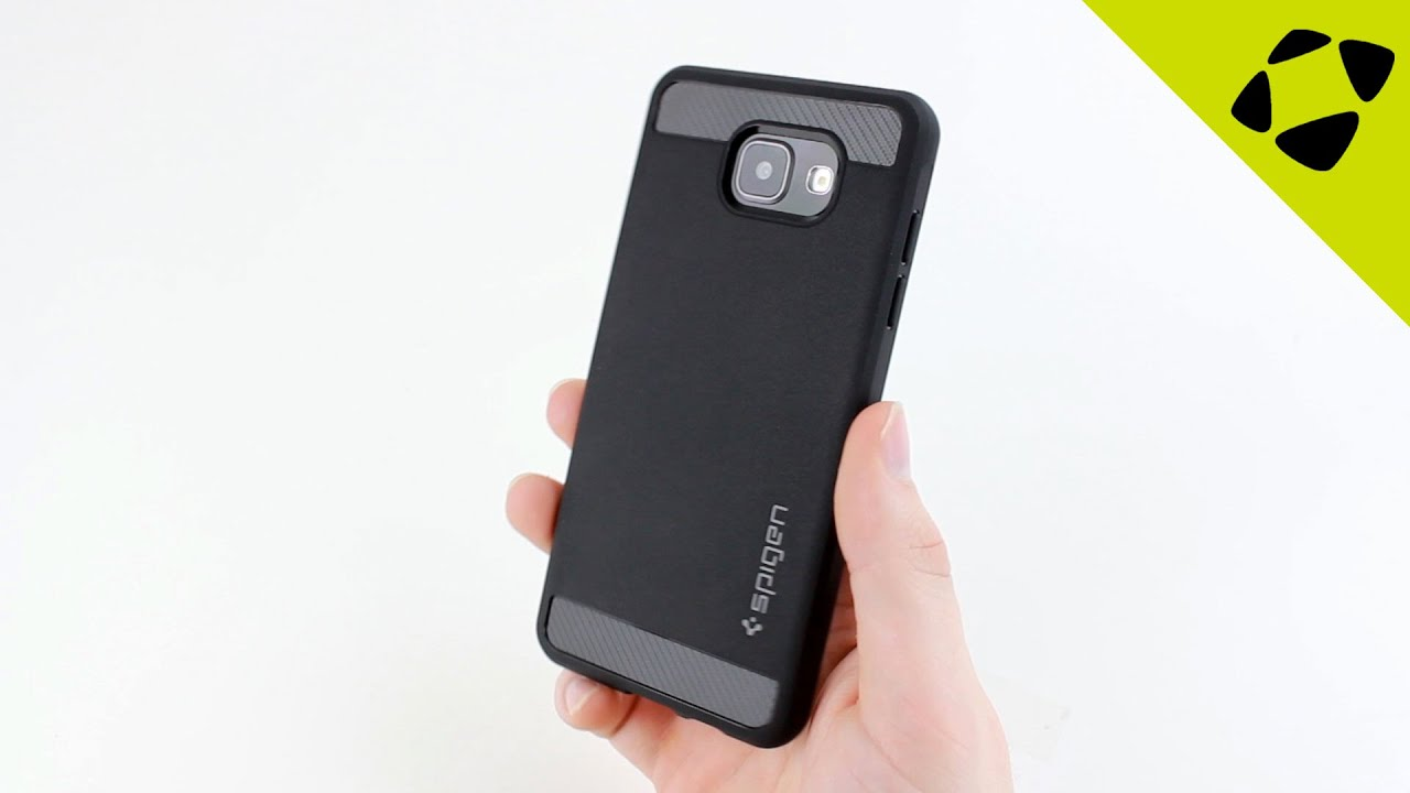 new product d4bdc 10d80 Spigen Rugged Armor Samsung Galaxy A5 2016 Case Review - Hands On