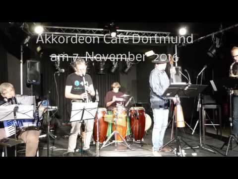 Das ZimmaOrkestra im Akkordeon Café Dortmund am 7.11.2016