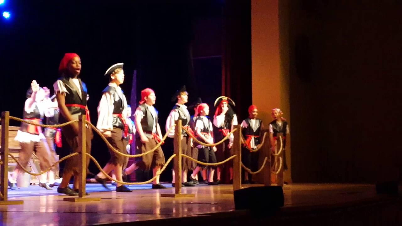 Peter Pan Jr Pirate Yo Ho Song Dance Intro Youtube